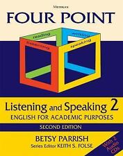 Four Point Listening and Speaking 2,  Second Edition (with 2 Audio CDs): Englis