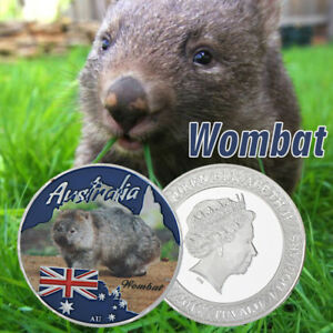 WR-2017-Australian-Wombat-1-Dollar-Coin-Wildlife-Animal-Young-Collectors-Gifts