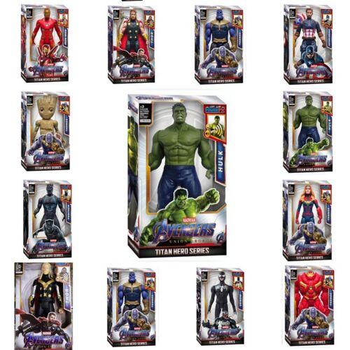 12/'/' Marvel Avengers Super Heros Action Figure Toys Iron-Man Spider-Man Gifts UK