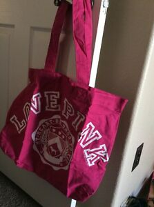 Limited Edition New Victoria/'s Secret PINK Iridescent Shine Tote Bag
