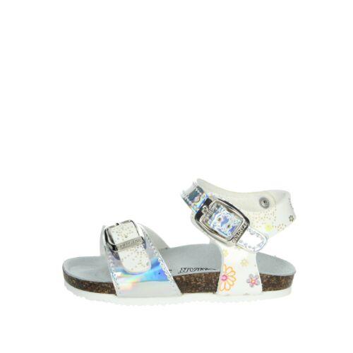Sandalo Bambina Goldstar Pelle sintetico Bianco//argento 8846PF