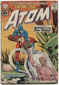 SHOWCASE-1956-34-2-0-GD-ORIGIN-amp-1ST-S-A-SILVER-AGE-APP-OF-THE-ATOM