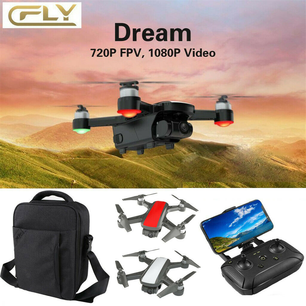 C-FLY Dream GPS WIFI FPV con 2 Axis  Gimbal 1080p fototelecamera BRUSHLESS DRONE + Zaino  miglior servizio