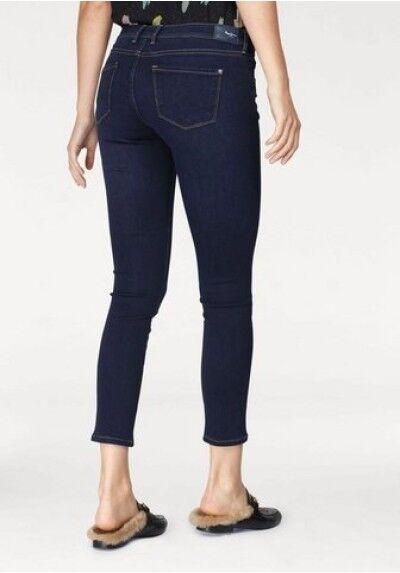 Pepe Skinny Jeans LOLA W30 W31 W32 L28 NEU Damen Stretch Hose Blau Slim Fit