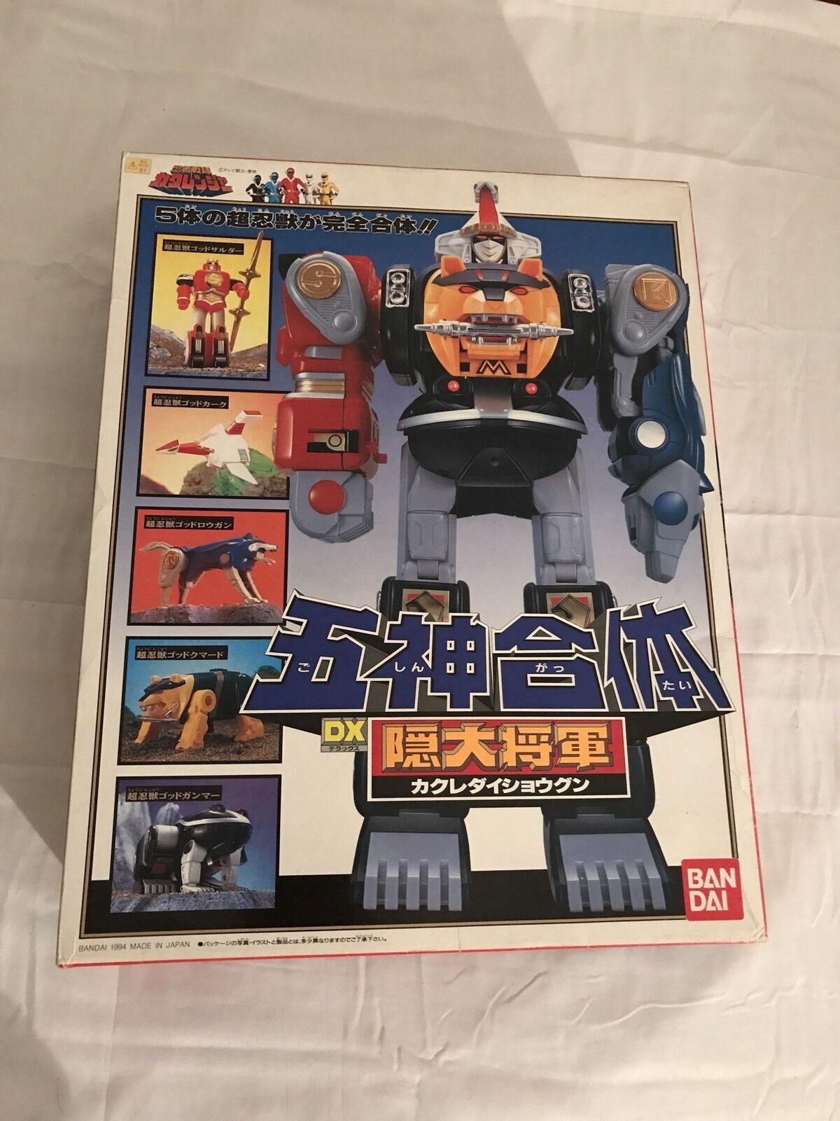 Sentai Kakuranger DX KAKURE DAISHOGUN   Power Rangers Rangers Rangers Ninja Megazord JAPAN 1994 3e0f19