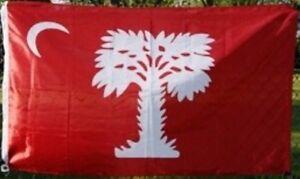 ORIGINAL-BIG-RED-South-Carolina-CITADEL-1861-Flag-3x5-ft-Print-Polyester