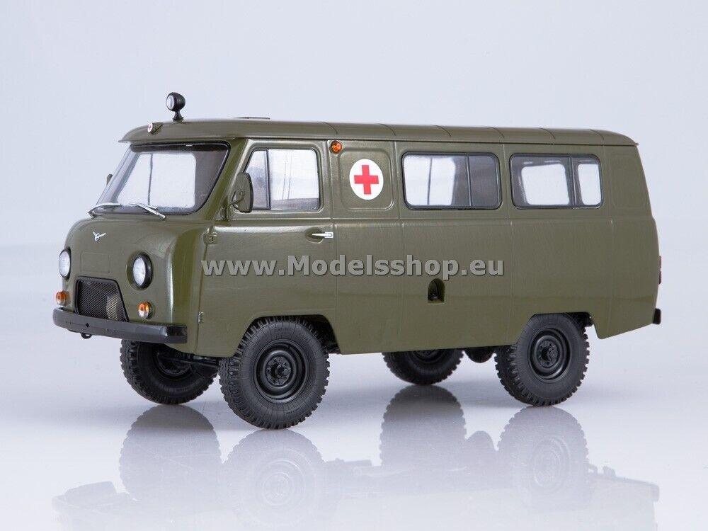 UAZ-452A military ambulance  khaki