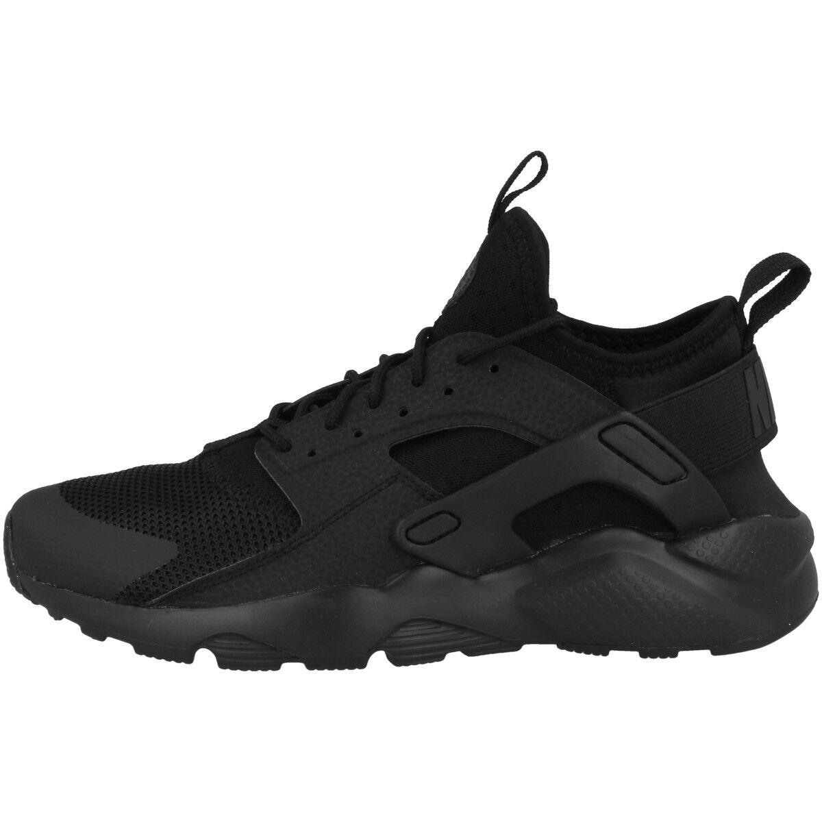 Nike Air Huarache Run Ultra Gs Scarpe Tempo Libero Sport scarpe da ginnastica Nere 847569-004
