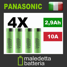 4X Batteria 18650 NCR Panasonic NCR18650PF 2900mAh -  sigaretta bb cella mod box