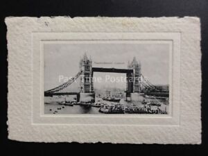 London-Tower-Bridge-c1912-HAND-MANUFACTURED-POSTCARD-PAPER-CARD