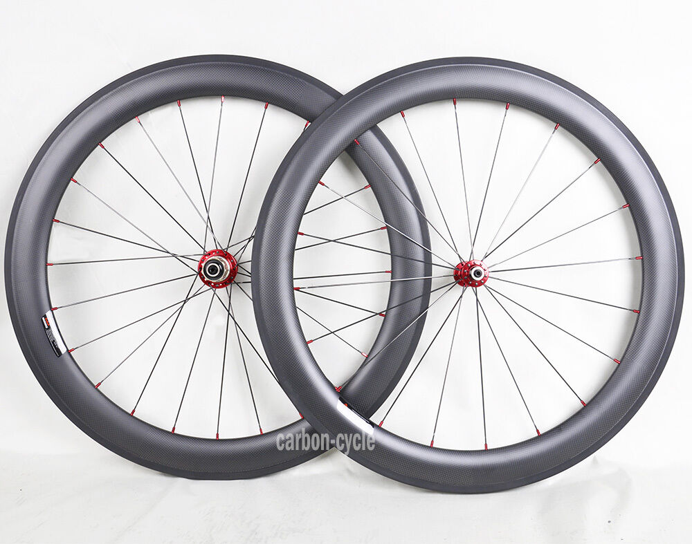 Sapim 60mm Carbon Wheel Clincher Road Bicycle Rim  700C 11s 3k Matt 25mm Novatec  a lot of surprises