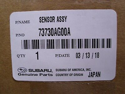 SUBARU OEM 05-10 Legacy-Outside Air Ambient Temperature Sensor 73730AG00A