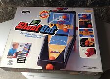 1990# Vintage Console Dash Table Top Mel Appel#Shoot Out Basketball#Nib