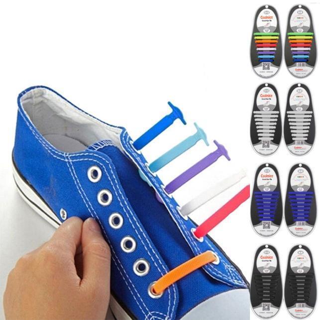 Silicone Shoe Laces Uk