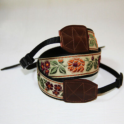 Universal DSLR Camera Shoulder Strap Hand Made Neck Belt Canon Nikon Sony Strap