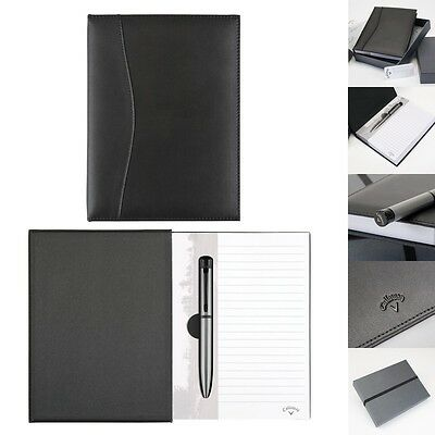 Callaway Executive Leather Journal with Ballpoint and Gift Box - New