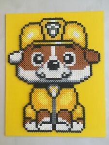 Pixel Art Perles A Repasser Tableau De Ruben De Pat Patrouille Ebay