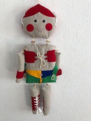 Unbenutzt As Effectively As A Fairy Does ⭐️⭐️ Zum Aufhängen Spielzeug Stofftier Kinderpuppe ⭐️⭐️ Puppe 83 Cm
