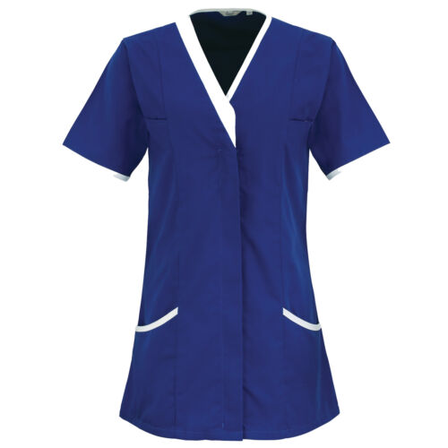 PREMIER LADIES DAISY HEALTHCARE NURSE HYGIENIST ORDERLY TUNIC 8-24 PR605