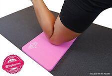 SukhaMat Yoga Knee Pad Mat Cushion (Pink) - Alleviate Yoga Knee Pain - 50% OFF!