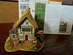 LILLIPUT-LANE-L2684-THE-TOY-BOX-TADCASTER-NORTH-YORKSHIRE-WITH-BOX-amp-DEEDS