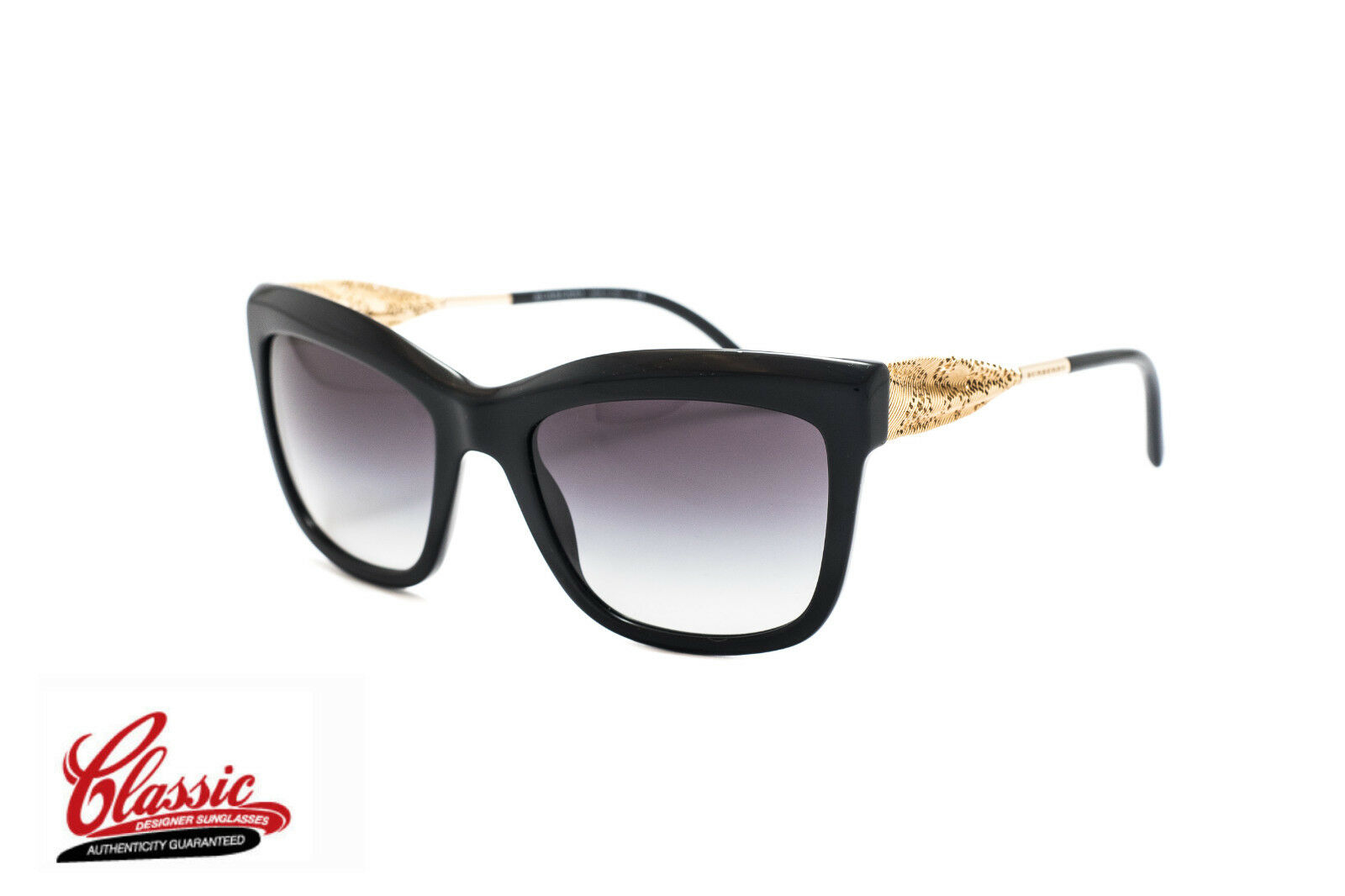 94a4f75675 Sunglasses Burberry Gabardine Lace Be4207 in Black for sale online ...