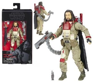 Star Wars Black Series Chirrut Imwe and Baze Malbus Action Figures Rogue One 6""