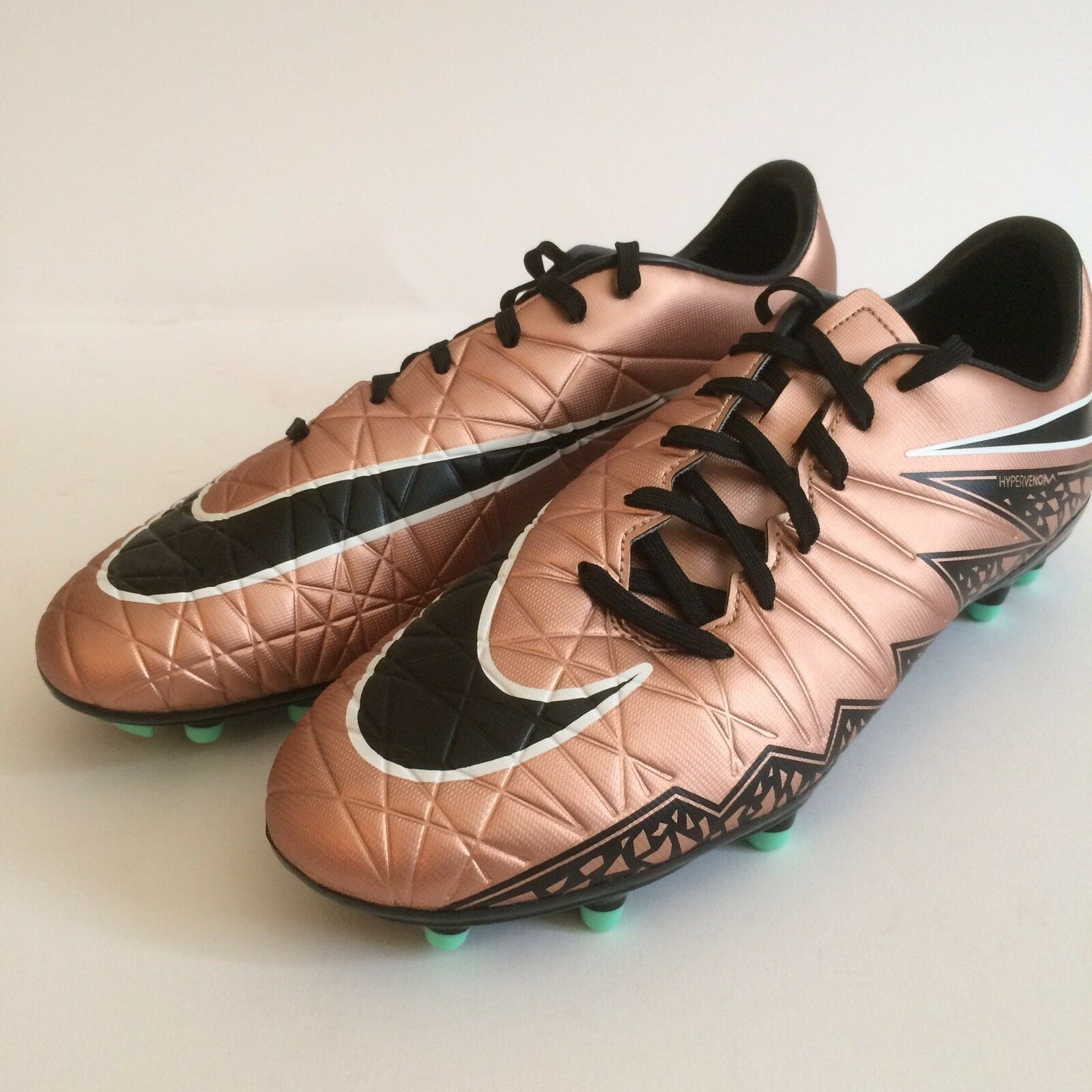 New Men's Nike Hypervenom Phelon II FG Soccer Cleat, Bronze/Black, Comfortable Brand discount