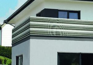 das bild wird geladen sichtschutz windschutz balkonverkleidung starkes pvc gewebe 0 9