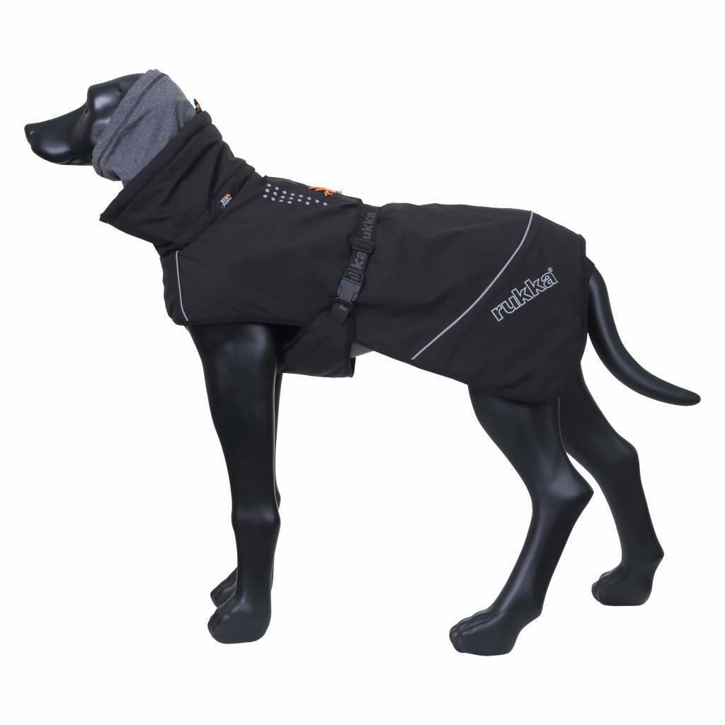Rukka-Pets Hundewintermantel  Warmup  schwarz  25cm bis 65cm