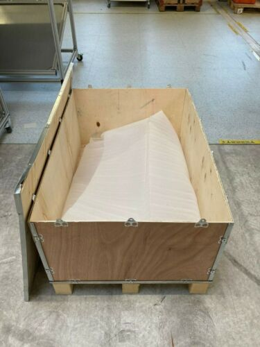 Paletten Transportkisten aus Holz mit Deckel 109cm x 75cm x 54cm