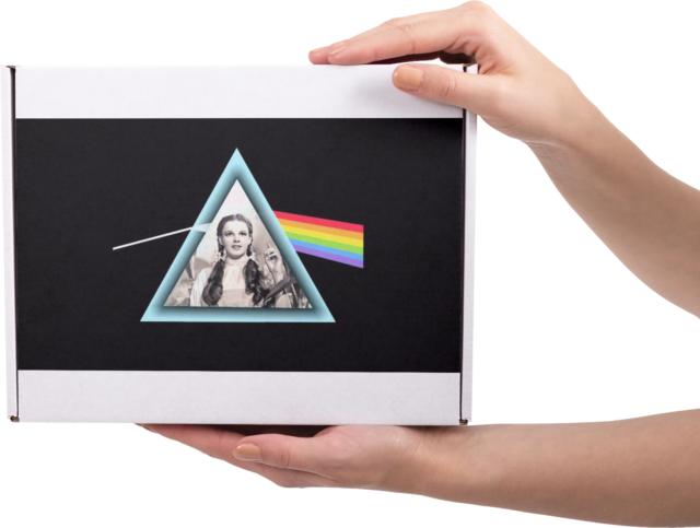 Pink Floyd The Dark Side Of The Moon Playing Cards Memorabilia Collectable