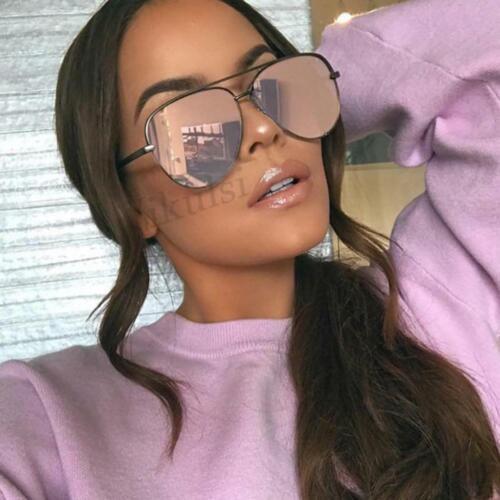 NEW Brand Moda Occhiali da sole donna Oversize Occhiali Da Sole Pilota PER WO