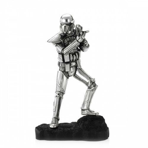 Star Wars Pewter Figurine Death Trooper - Lucasfilm Approved - by Royal Selangor