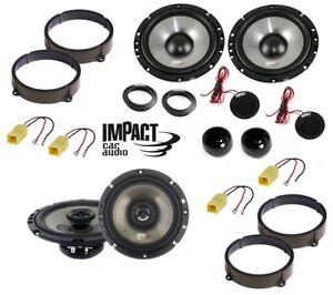 IMPACT-Kit-6-casse-per-LANCIA-YPSILON-04-gt-11-MUSA-con-ADATTATORI-E-SUPPORTI