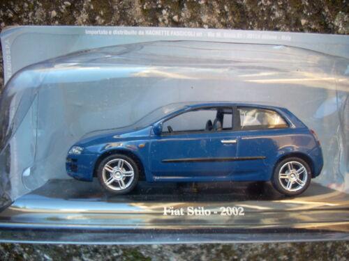 FIAT STILO 2002 HACHETTE SCALA 1//43