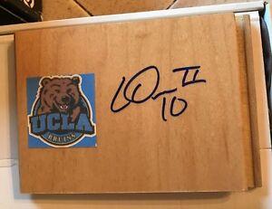 LARRY DREW JR.  signed UCLA BRUINS basketball floor tile FREE SHIPPING