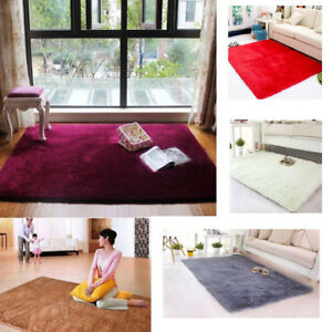 Image Is Loading Large Size Fluffy Rugs Anti Skid Gy Area