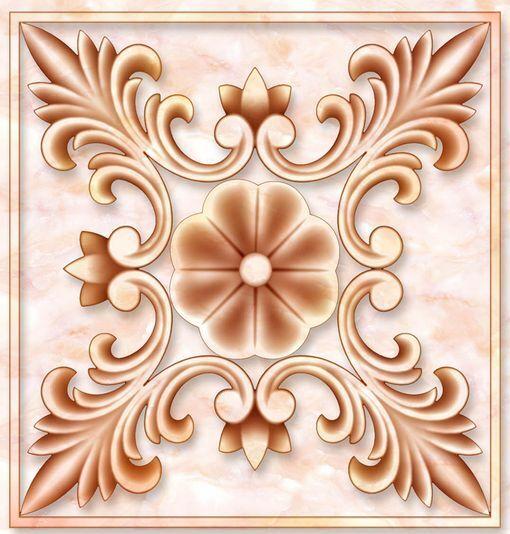 3D Pattern 18 Fond d'écran étage Peint en Autocollant Murale Plafond Chambre Art