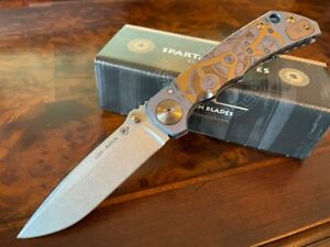 Spartan Blades Knife Harsey Folder S45VN 2021 Special Edition Watch Works