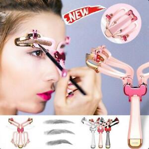 Adjustable-Eyebrow-Shapes-Stencil-Women-039-s-Makeup-Model-Template-Tool
