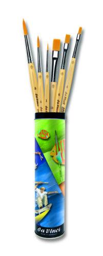 Da Vinci acuarela y acrílico pintura regalo lata junior geschenkeset serie 5406