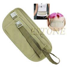 Pouch Hidden Wallet Passport Money Waist Belt Travel Bag Slim Secret Security