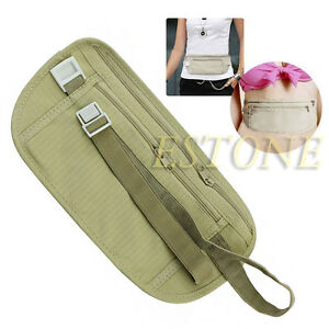 Pouch-Hidden-Wallet-Passport-Money-Waist-Belt-Travel-Bag-Slim-Secret-Security