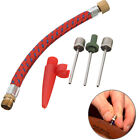 Ball Inflating Pump Needle Valve Adaptor Soccer Basketball Football MXT