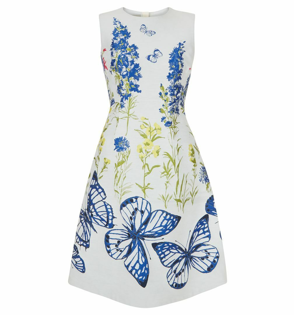 Hobbs Hobbs Hobbs Caroline Avorio Multi Dress. varie Taglie. RRP . 1b05c2