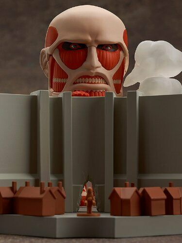Attack on Titan NendGoldid Super Giant Giant & Advance Play Set (Nonscale ABS