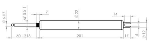 Ersatzzylinder Zylinder Automatischer Fensteröffner Megavent und Storm