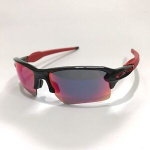 Oakley-Sunglasses-Flak-2-0-XL-9188-24-Polished-Black-Red-Iridium-COD-PayPal