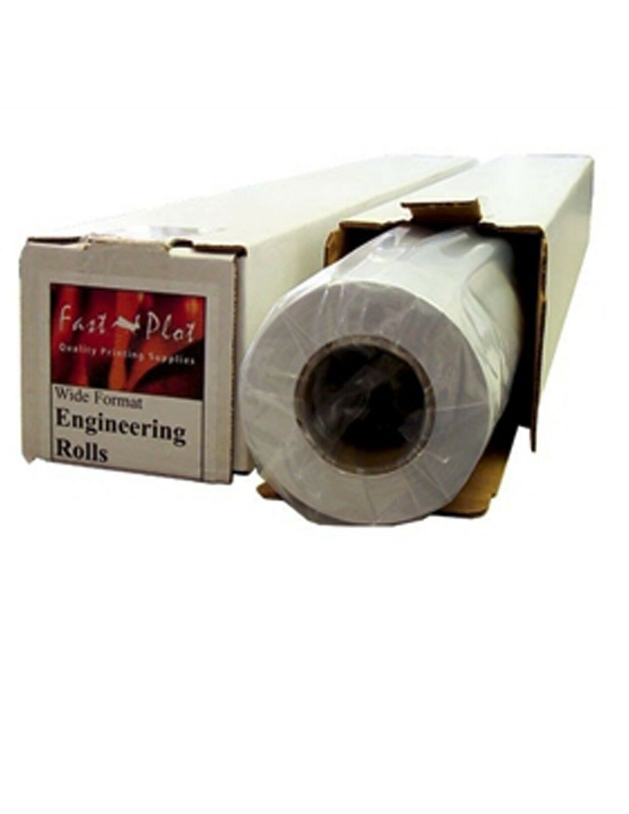36 lb. Premium Coated Bond Plotter Paper 30  x 100' 2  Core - 1 Roll